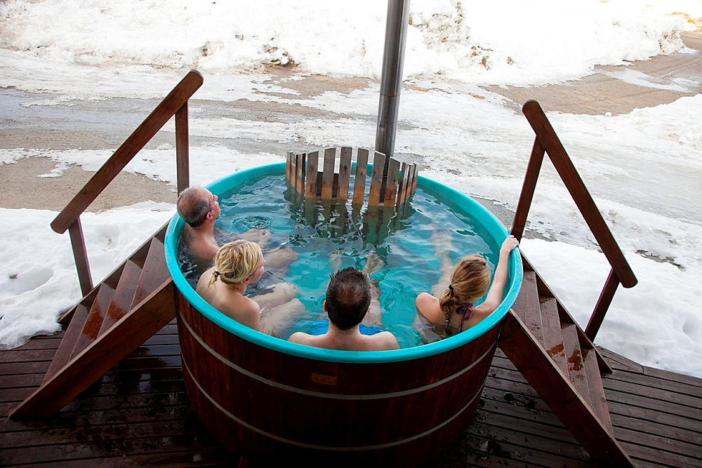 Jacuzzi Pite Havsbad Hotel Pitea Vasterbotten, Lapland, Sweden, Scandinavia. - 817-426142