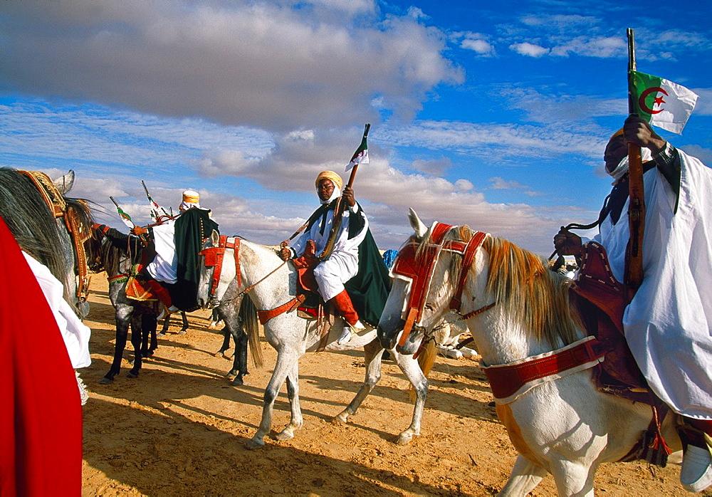 Argelian riders International Festival of the Sahara Douz Southern Tunisia. - 817-426143