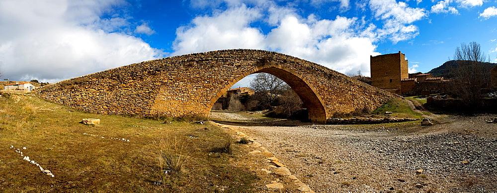 Gothic bridge, Pobla de Bellestar, Villafranca del Cid