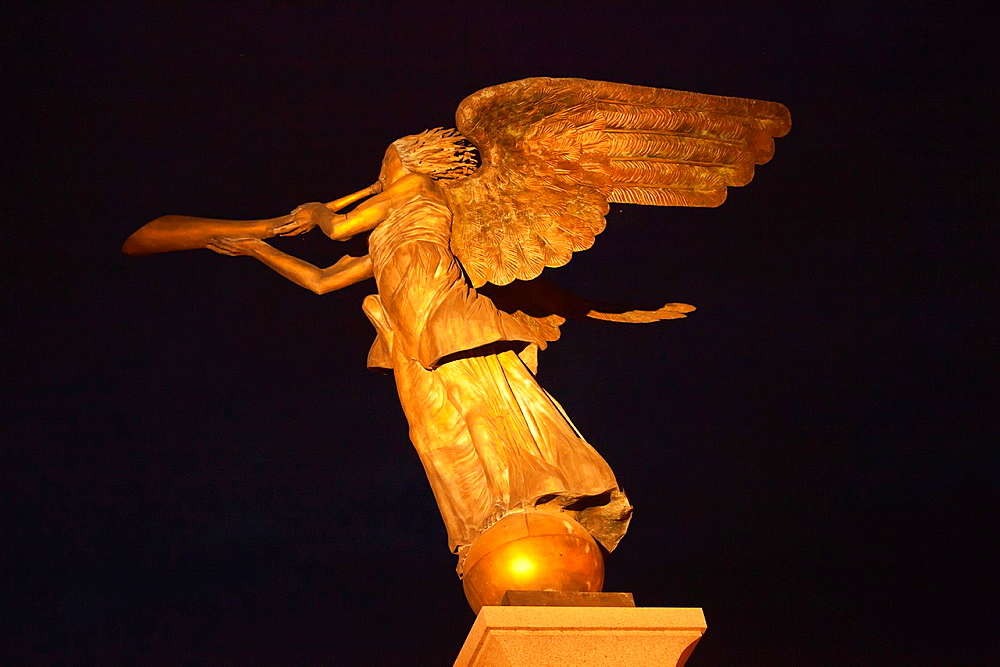 Vilnius The artists district of Vilnius Uzupis The Angel of Uzupis