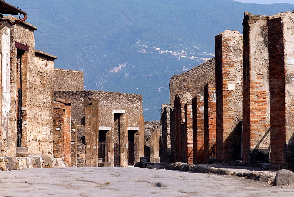 archeological site of Pompeii, province of Naples, Campania region, southern Italy, Europe