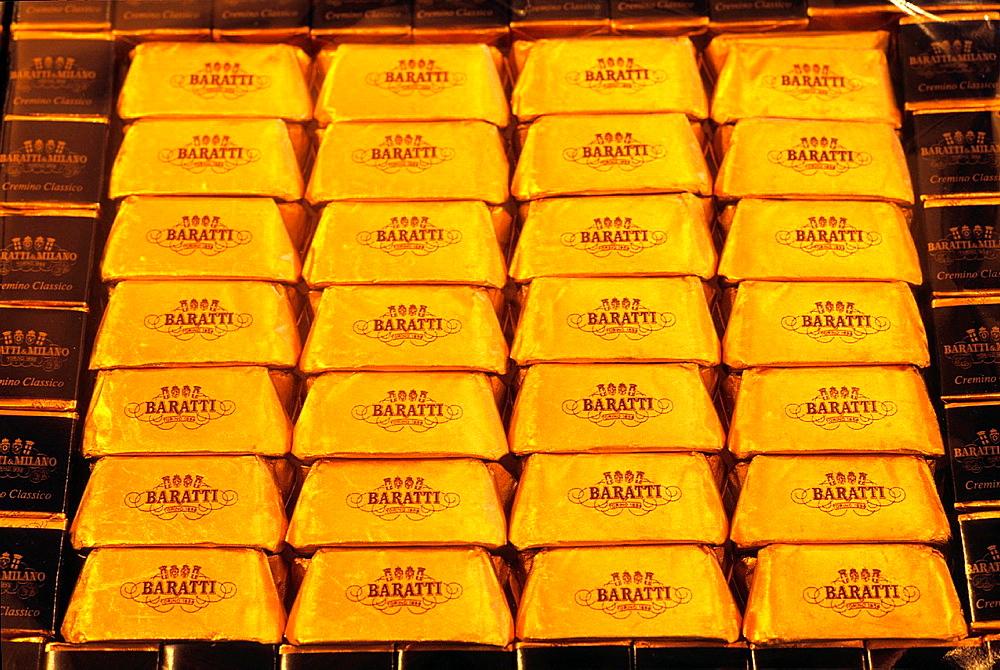 Barattti's chocolate, Turin, Piedmont region, Italy, Europe