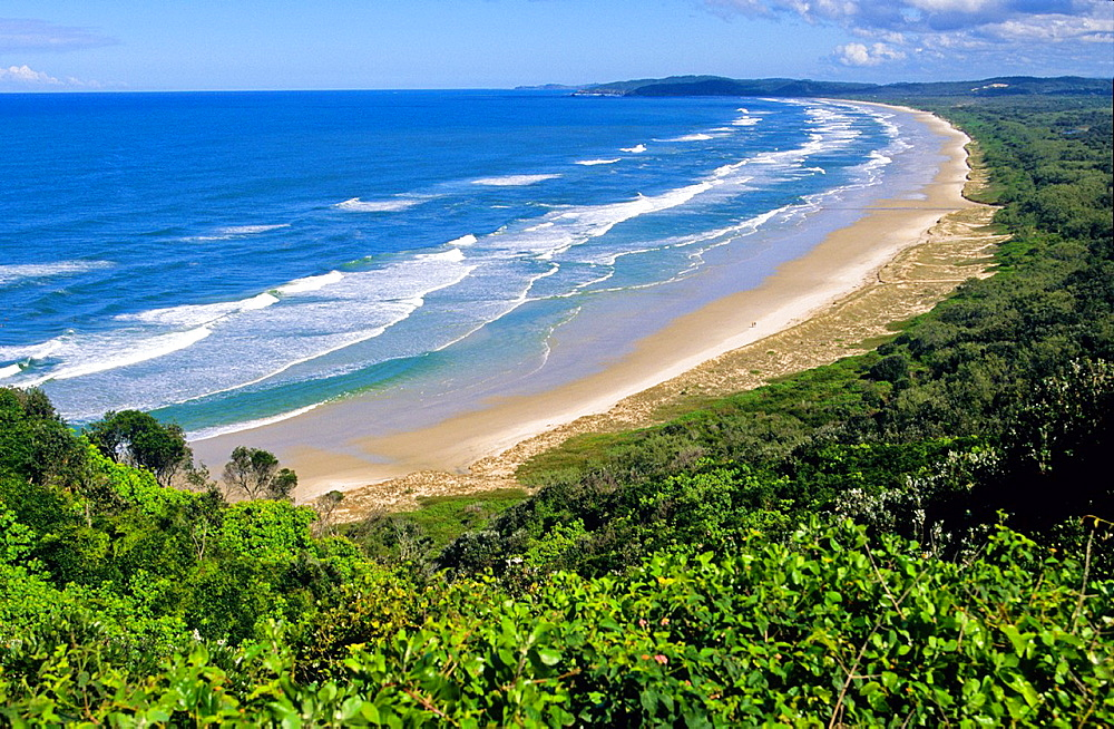 Tallow Beach. Byron Bay. New South Wales. Australia