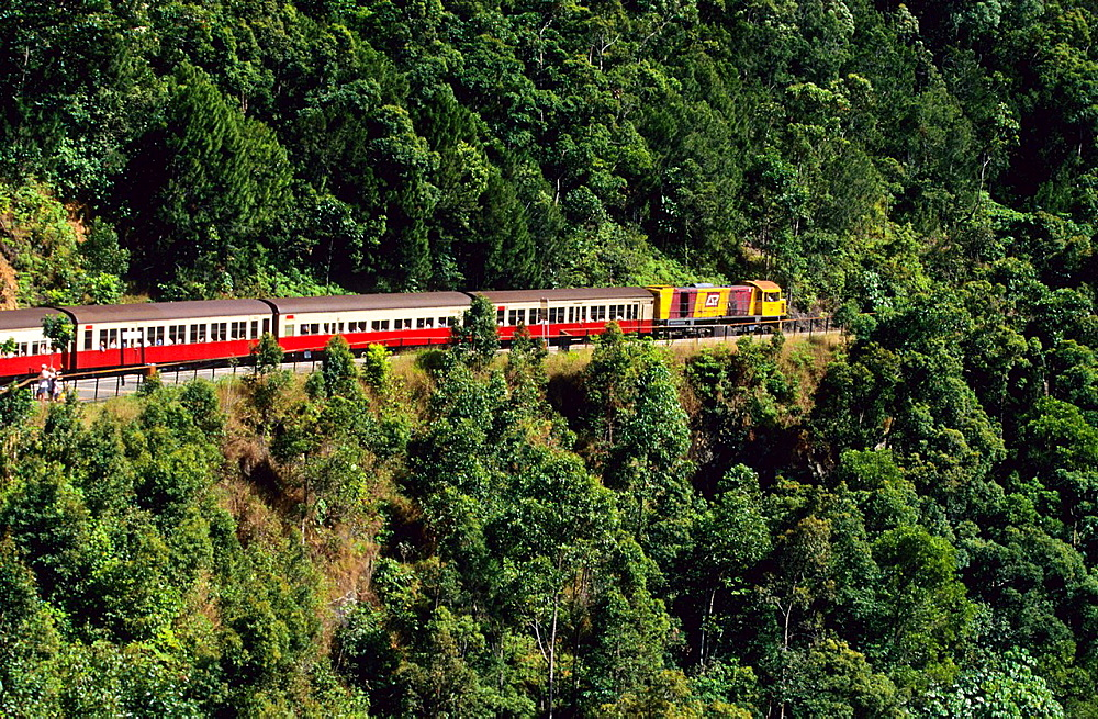 Kuranda train. Queensland. Australia