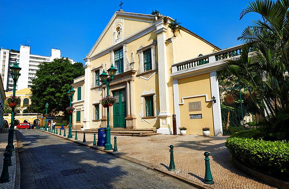 China, Macau, St Augustine's chrch San Agostinhos