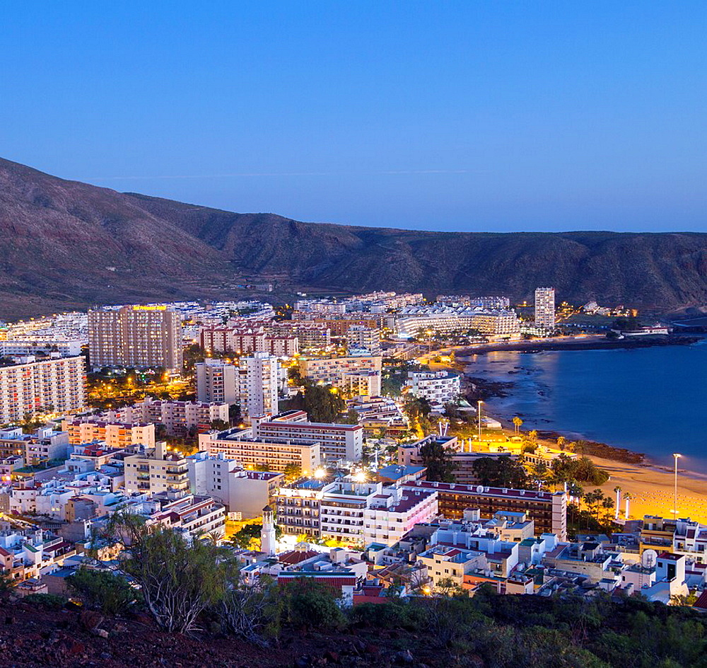 Los Cristianos on Tenerife, Canary Islands, Spain