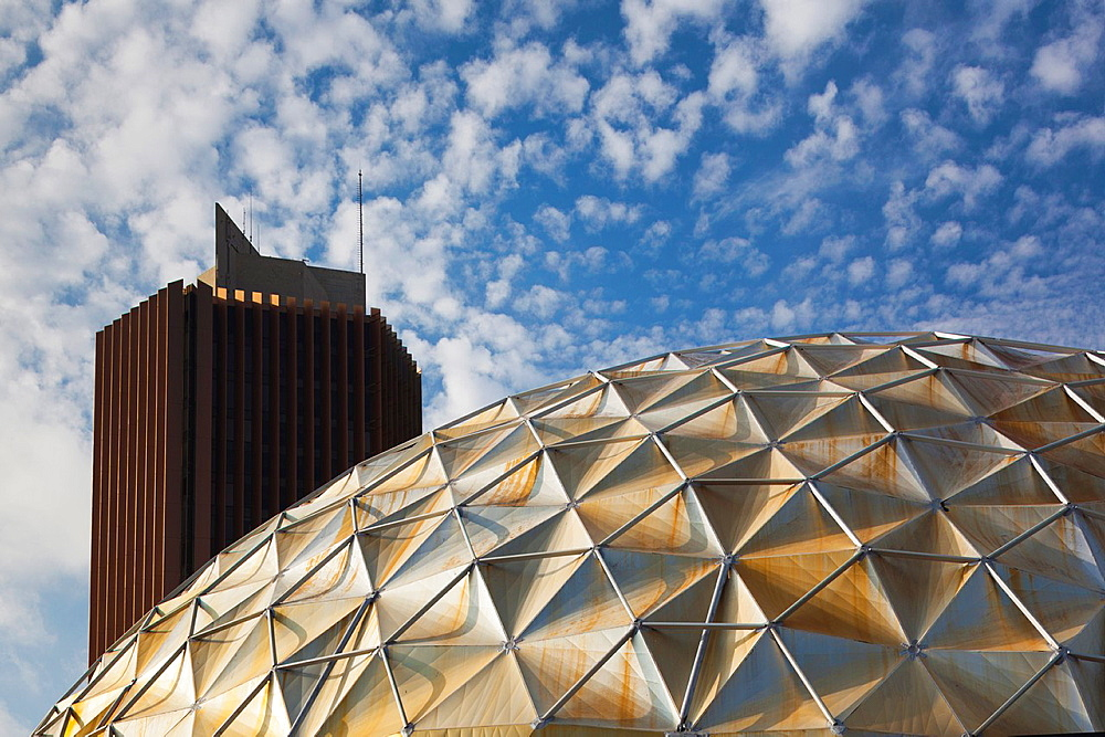 USA, Oklahoma, Oklahoma City, The Gold Dome Building