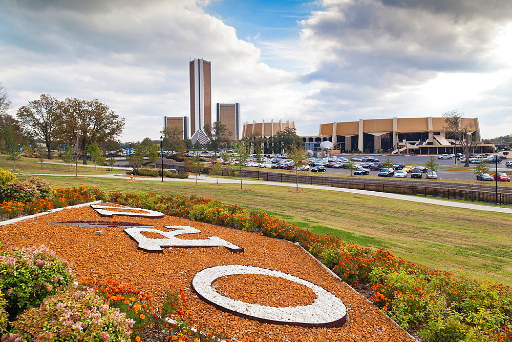 USA, Oklahoma, Tulsa, Oral Roberts University, campus view