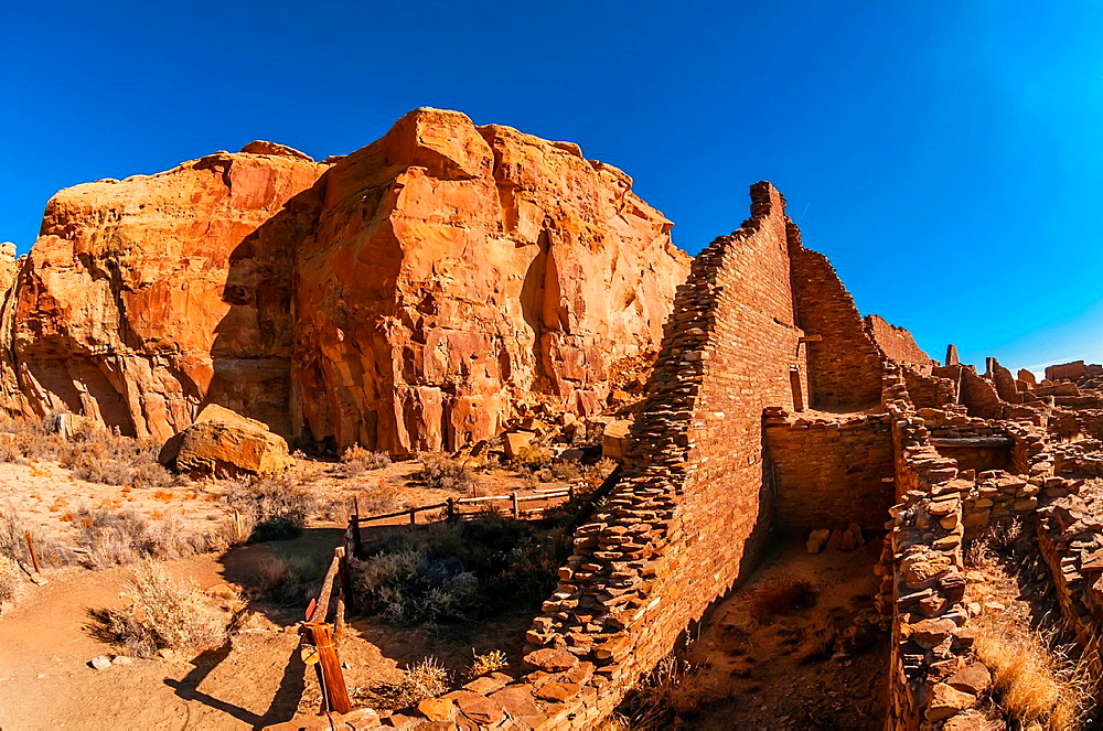 Pueblo Bonito, Chaco Culture National Historical Park Chaco Canyon, New Mexico USA