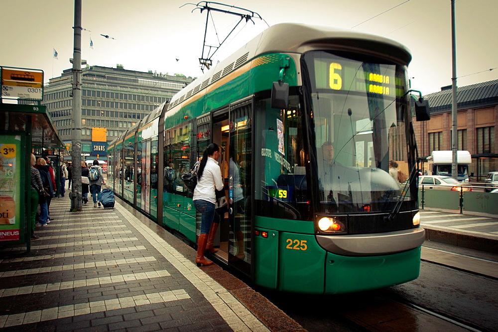 Tram, Helsinki, Uusimaa, Finland