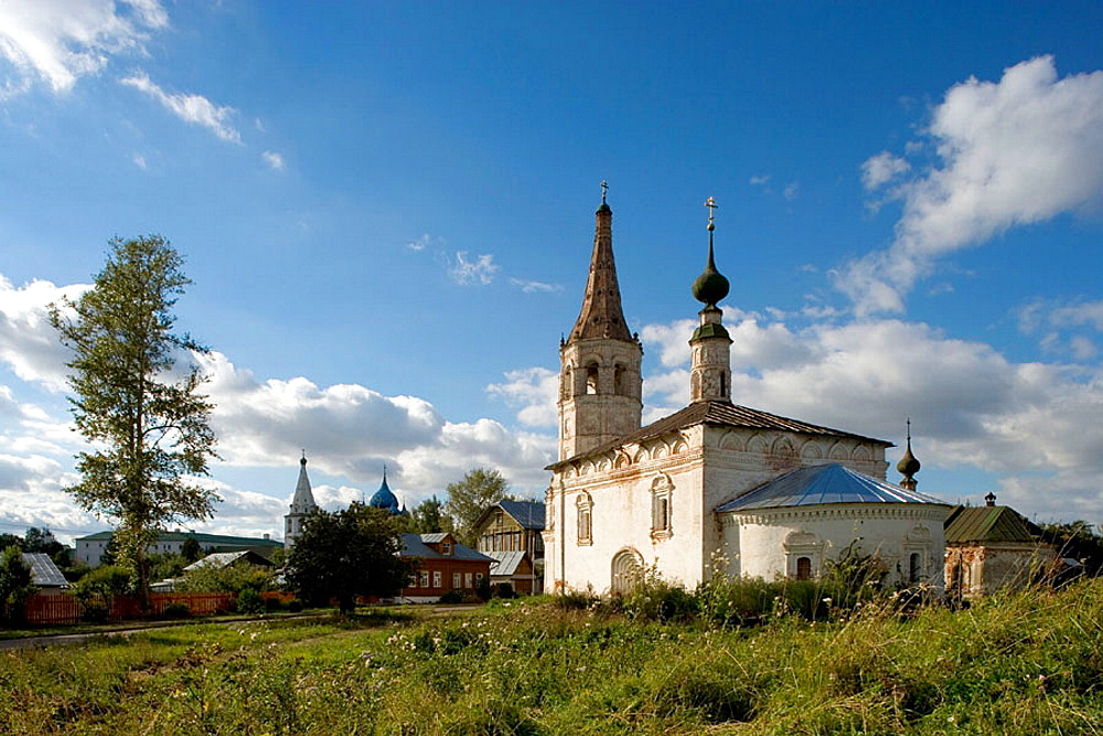 Church of St, Nicholas (1720-39), Suzdal, Golden Ring, Russia