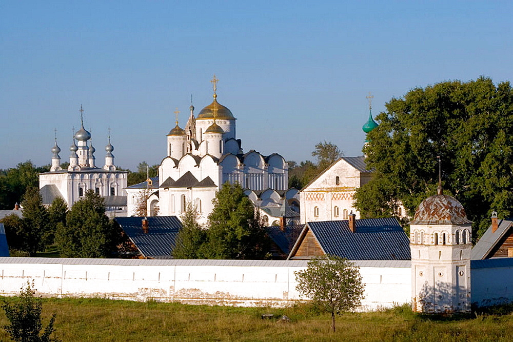 Convent of the Intercession founded in 1364, Suzdal, Golden Ring, Russia