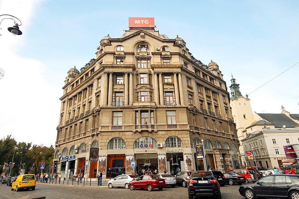 Old city center, Lviv, Ukraine, Eastern Europe