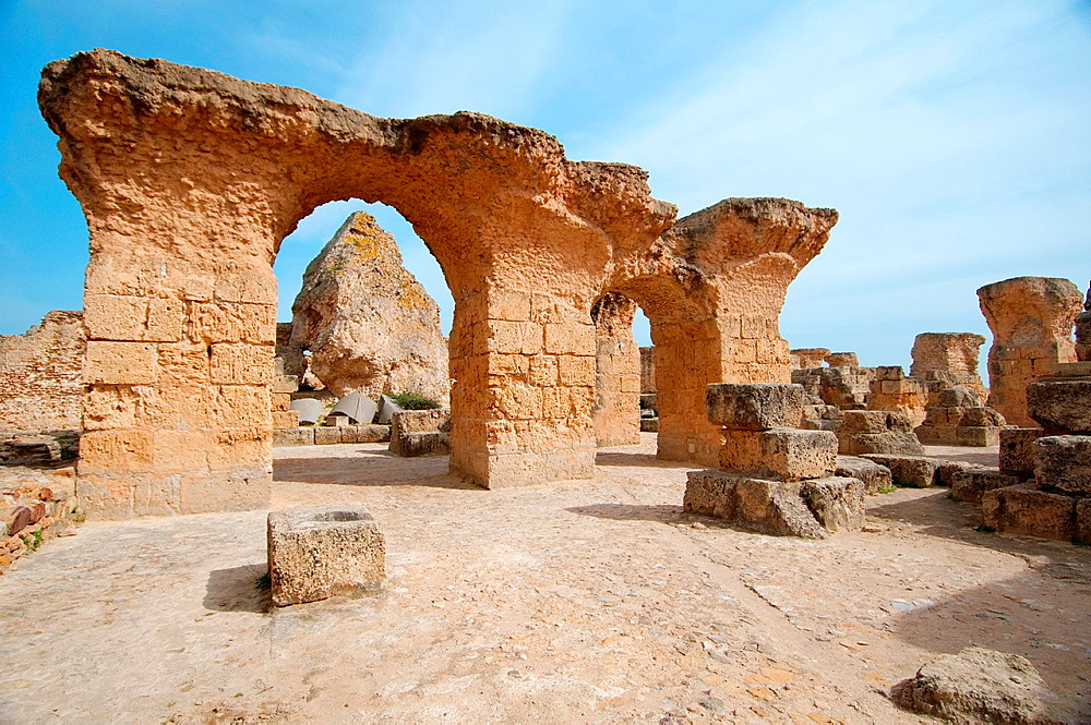 Ancient Carthage, antique city, Tunisia, Africa