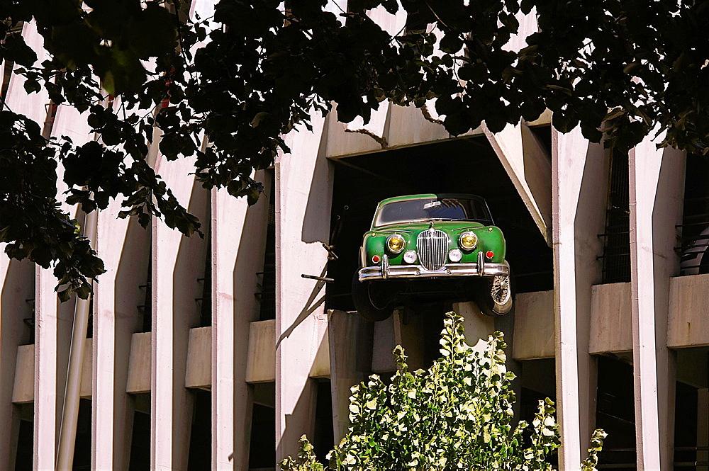 Parking Victor Hugo at Bordeaux, Gironde, Aquitaine, France