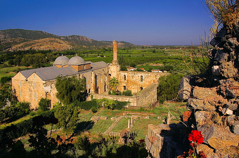 Turkey. Isa Bey mosque, 1375, at Selcuk.