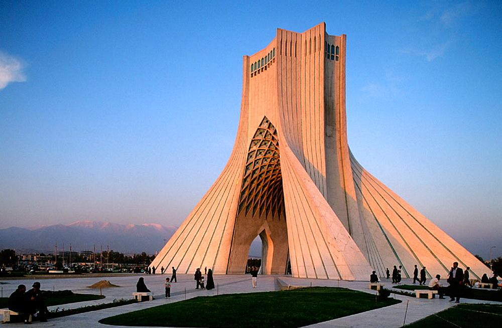 Azadi Tower, Teheran, Iran.