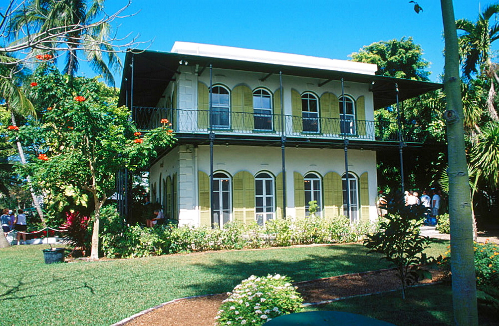 Ernest Hemingway home and museum, Key West, Florida, USA