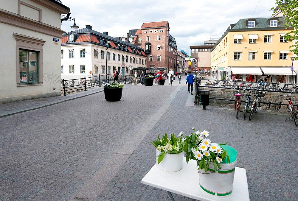 Old town, Uppsala, Sweden