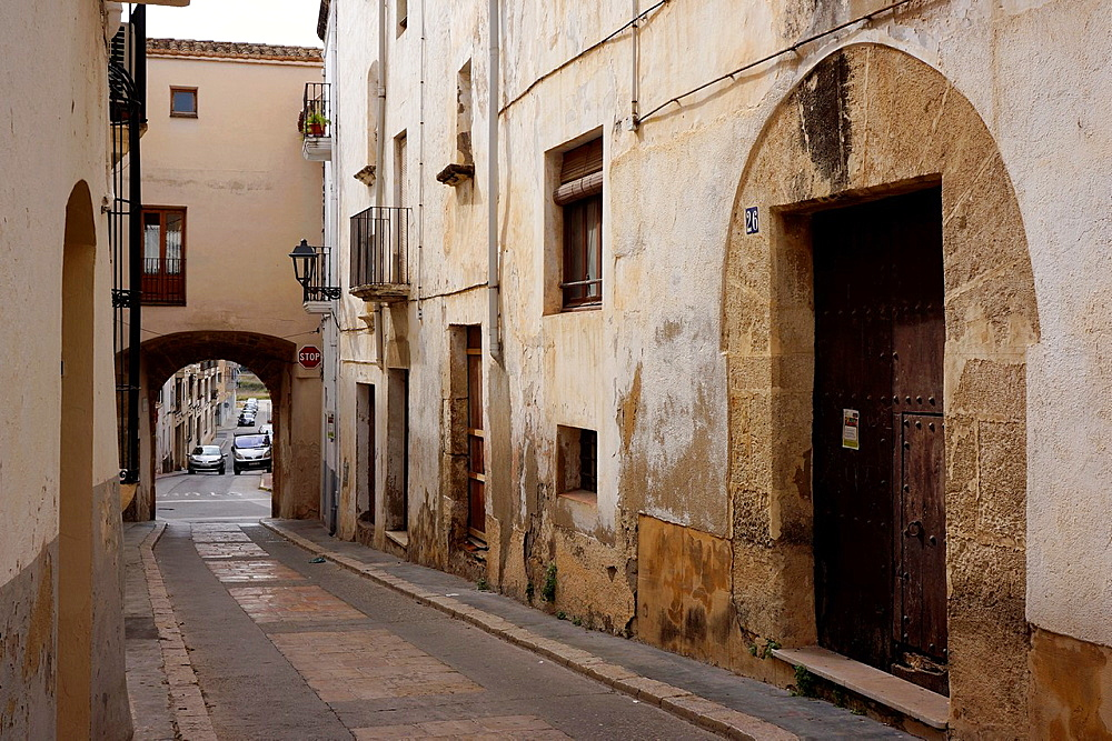 Torredembarra town, Tarragona Province, Catalunya, Spain