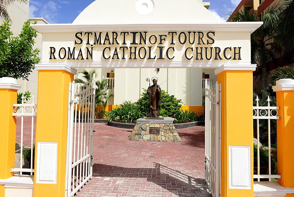 St Martin of Tours Roman Catholic Church Philipsburg Caribbean Island Netherland Antilles