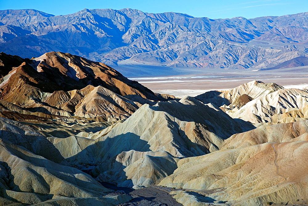 Death Valley National Park, California, Zabriskie Point