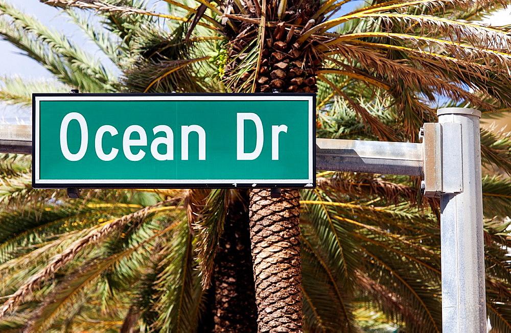 Ocean Drive, South Beach, Miami Beach, USA - 817-433186