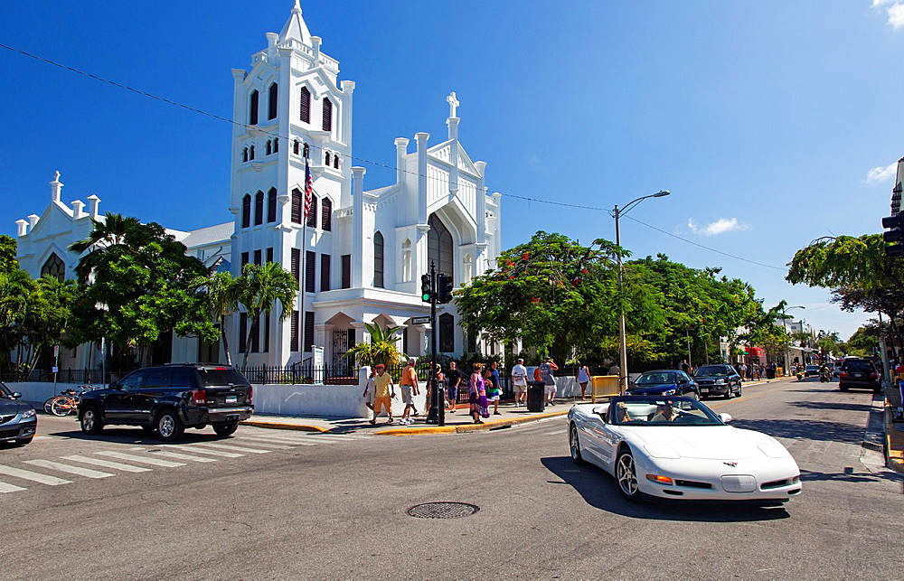 St Paul's Episcopal Church, Key West, Florida, USA