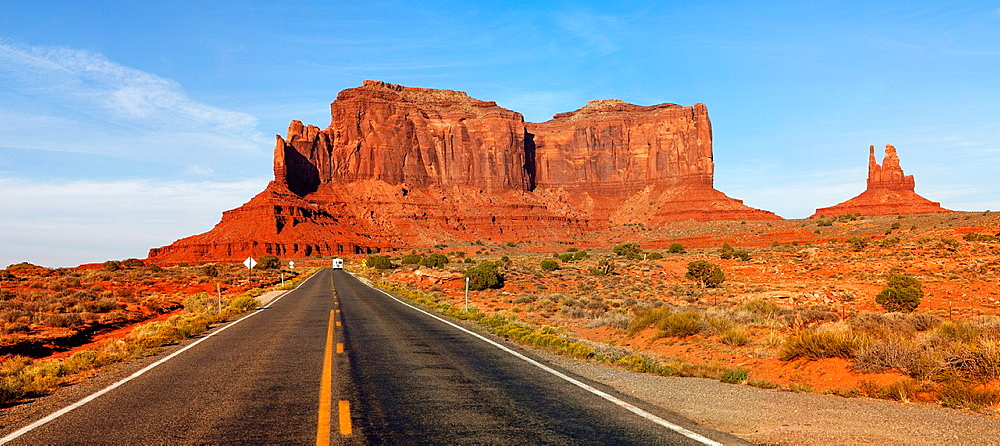 Along US-163 in Monument Valley, Arizona, USA