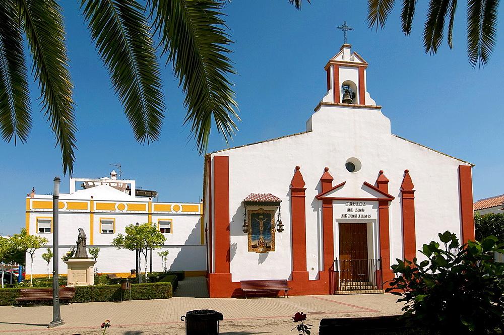 San Sebastian hermitage, La Palma del Condado, Huelva-province, Spain