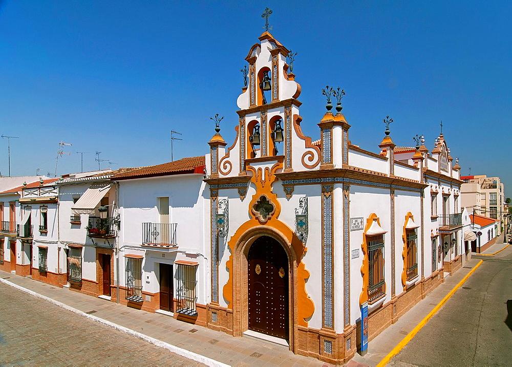 Chapel of the Holy Cross of Seville street, La Palma del Condado, Huelva-province, Spain