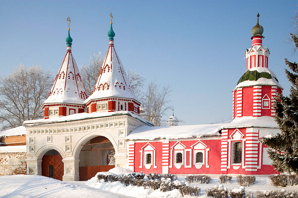 Convent of the Deposition of the Robe, founded in 1207, Suzdal, Golden Ring, Russia