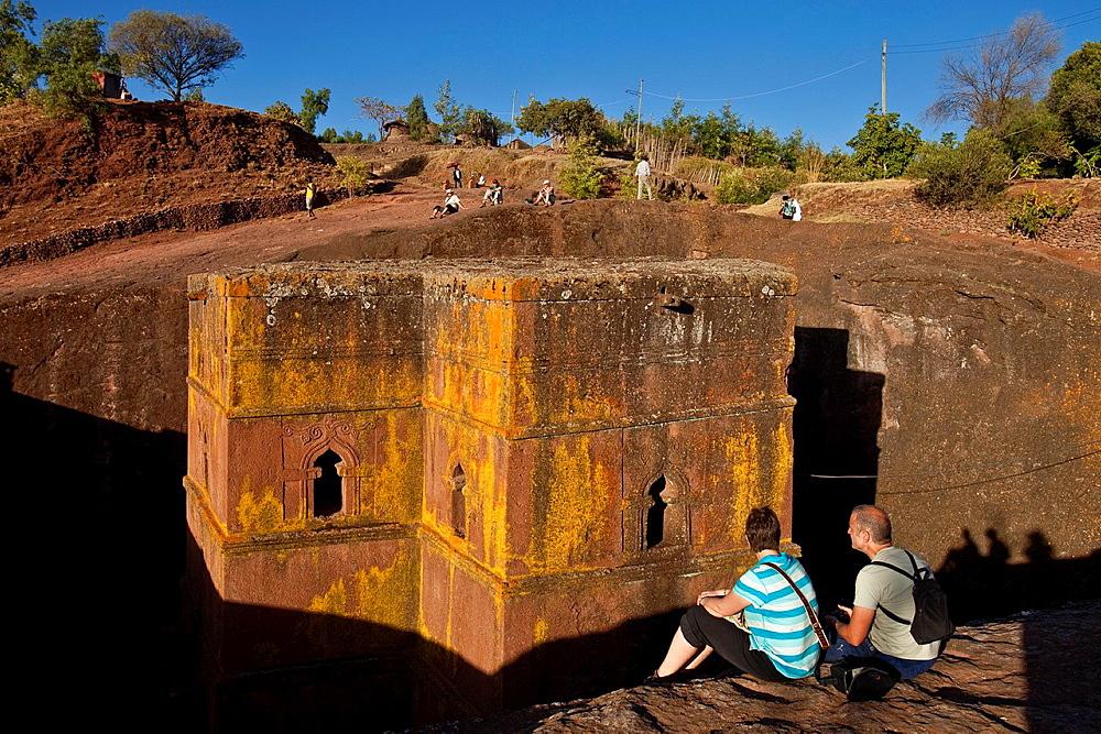 Bet Giyorgis Church, Lalibela, Ethiopia