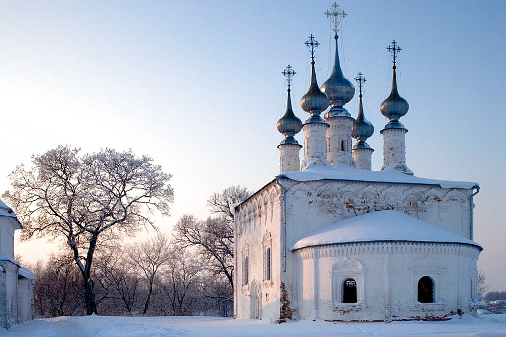 Church of the Entry into Jerusalem, 1707, Suzdal, Golden Ring, Russia