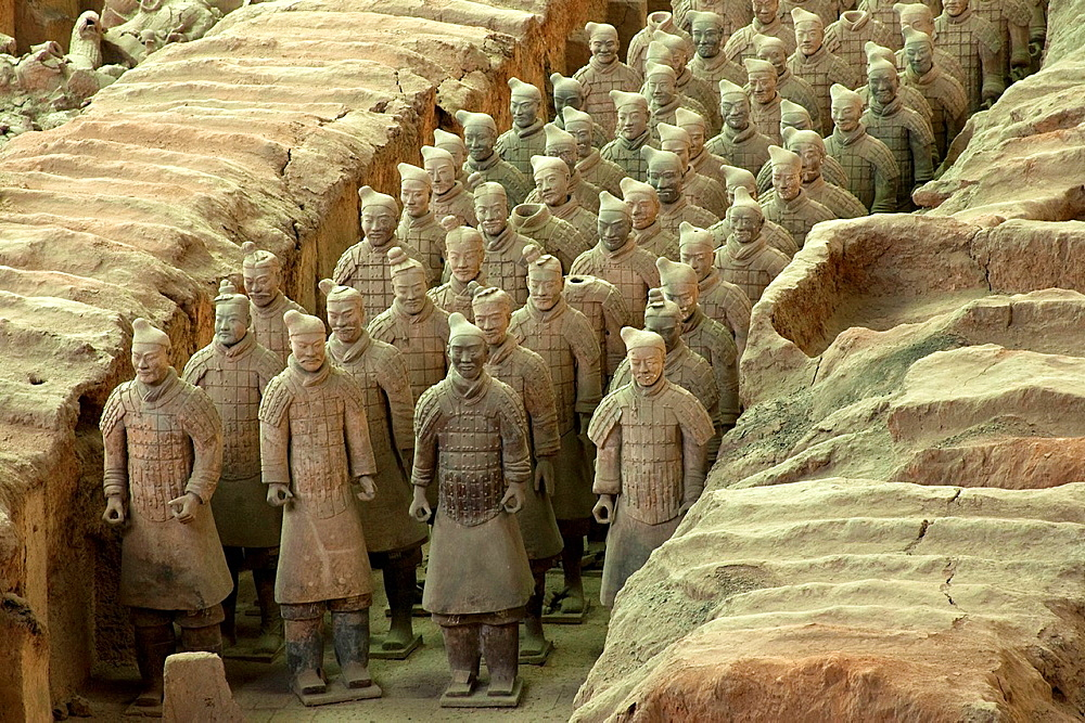 The Terracotta Warriors, Xi'an, China - 817-434129