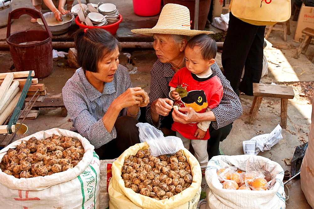 Fuli Market, Yangshuo, Guangxi Province, China