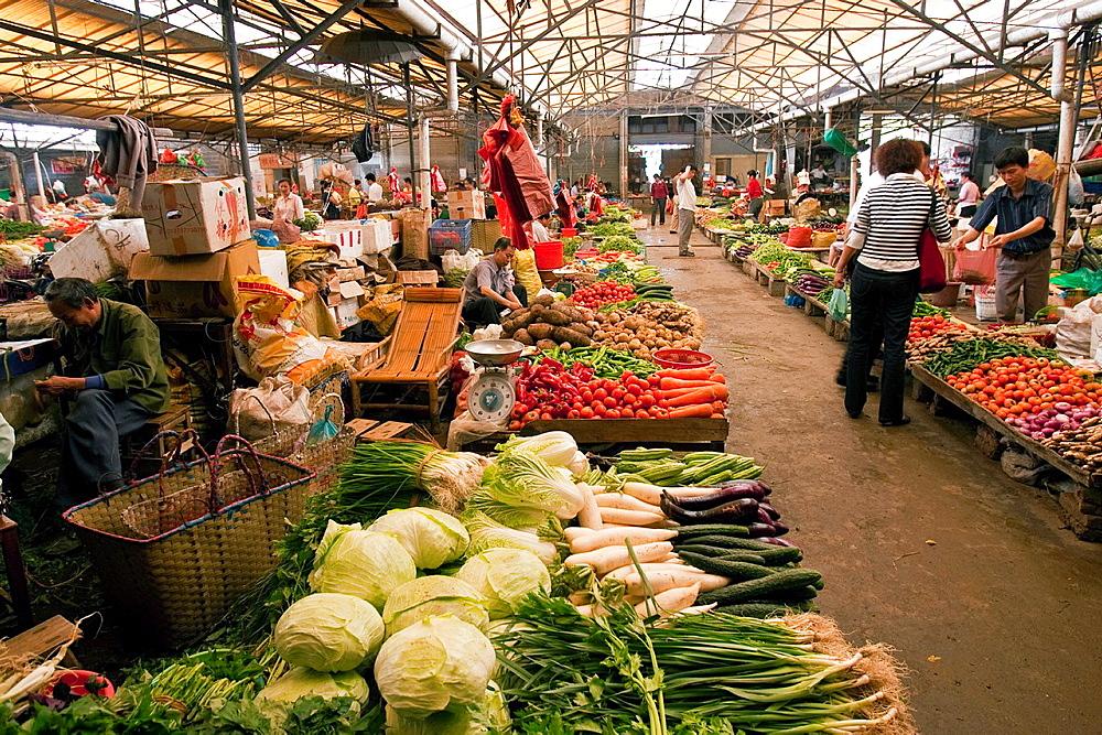 Yangshuo Market, Yangshuo, Guangxi Province, China