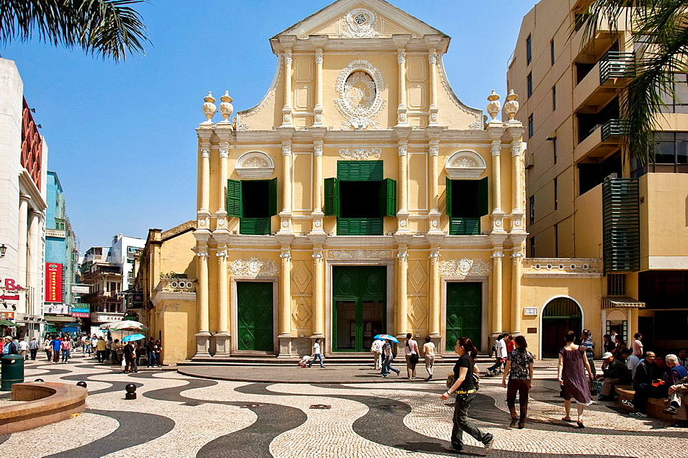 St Dominics Church Santo Domingo Macau, China