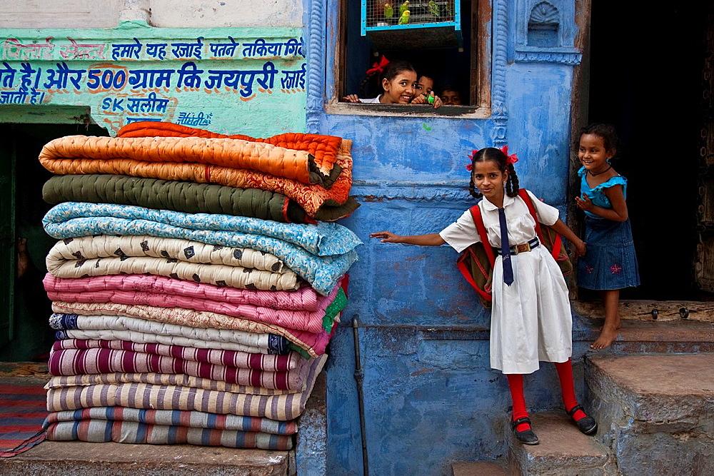 Streetscene, Jodhpur, Rajasthan, India