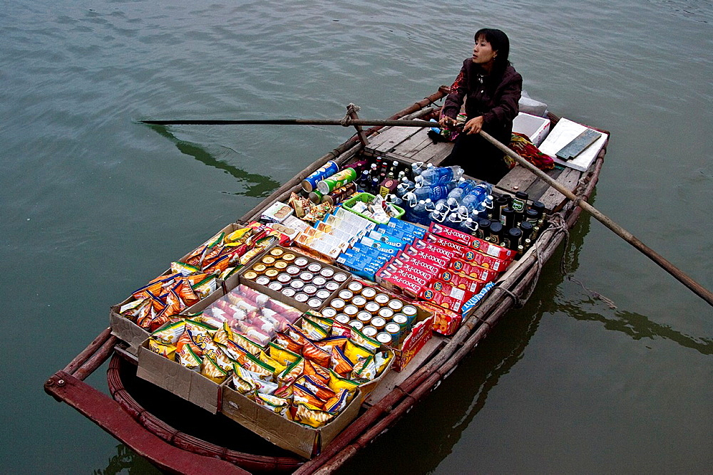 Mobile Shop, Halong Bay, Vietnam