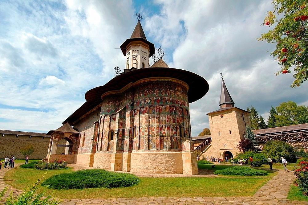 Sucevita Monastery Sucevia, Suceava, Bukovina, Romania - 817-434998