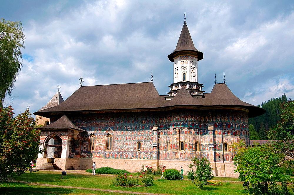 Sucevita Monastery Sucevia, Suceava, Bukovina, Romania - 817-435000