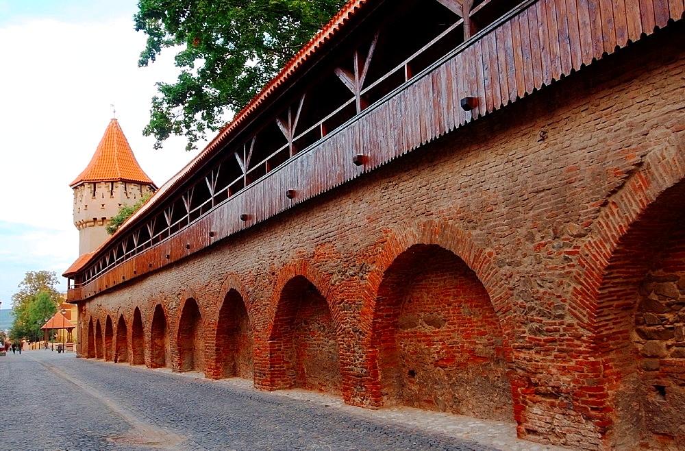 Fortress, Sibiu, Transylvania, Romania, Europe