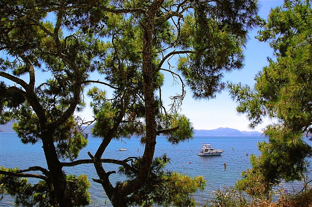 Aegean Sea on the Resadiye semi-island, Turkey