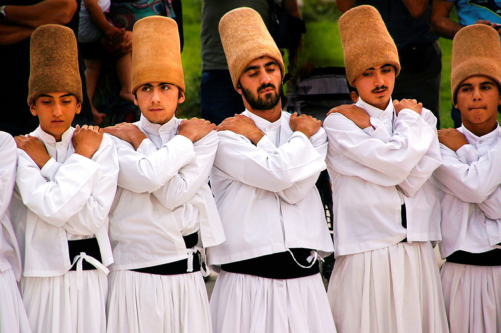 Sama ceremony of the Sufi Dervishes, Konya, Anatolia, Turkey