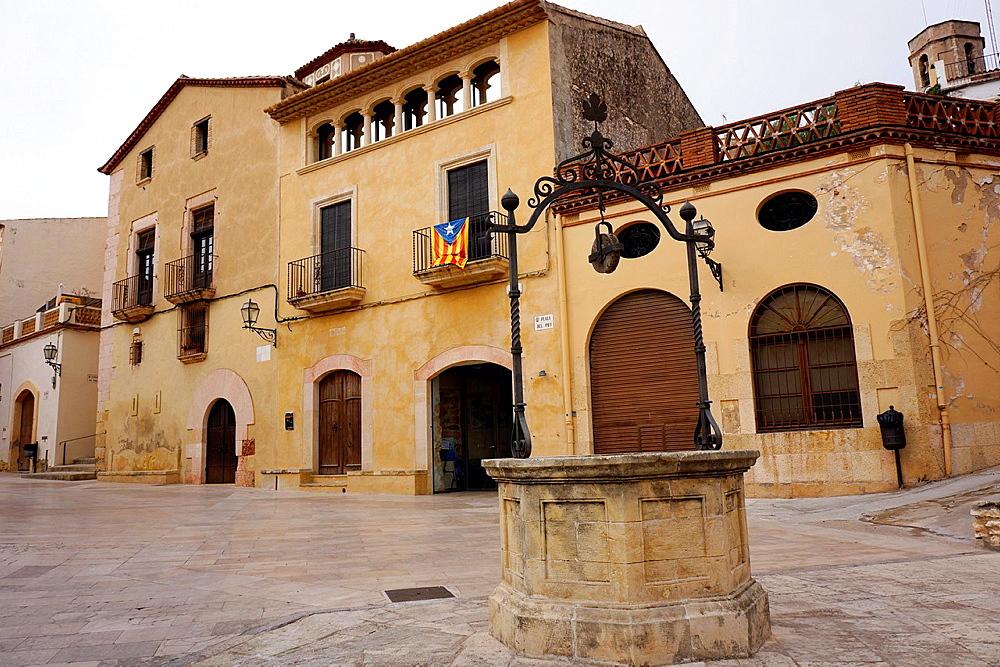 Altafulla town, Tarragona Province, Catalunya, Spain