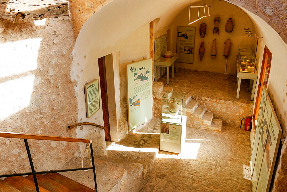 Archaeological Museum are Fornes, classical period room, Montuiri, District of Es Pla, Mallorca, Spain
