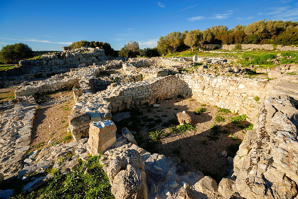 Talayotic site Son Fornes, Montuiri, C Talayotic period 1300-123 County Es Pla, Mallorca, Spain