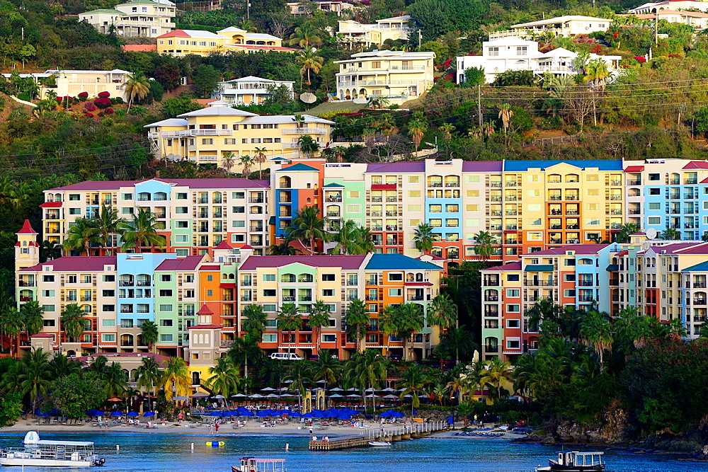 Charlotte Amalie Harbor St Thomas Virgin Islands USVI Caribbean US Territory