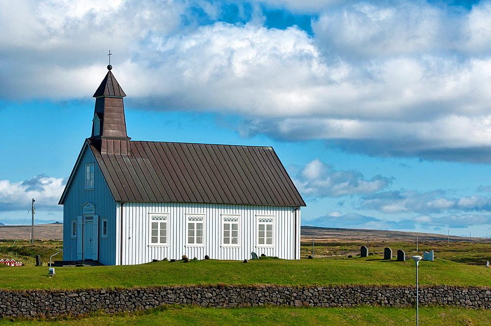 Strandarkirkja Church in Reykjanes, Southwest Iceland